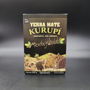 YERBA MATE - KURUPI - MENTA Y BOLDO